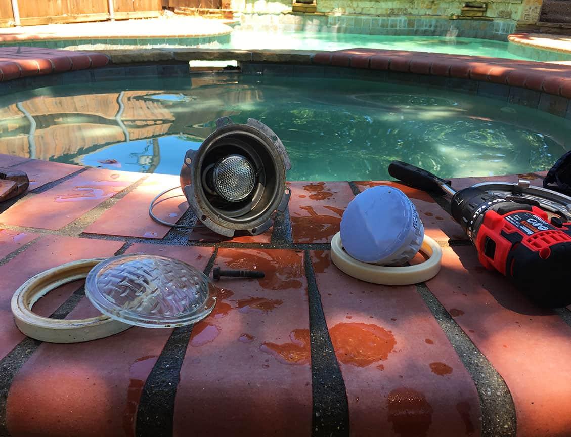 Pool Light Repair Trusted Swimming Pool Repair Company